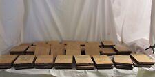 """4"""" Vintage ELLISON  EDUCATIONAL MACHINE 49 Blocks  Good Used Condition"""