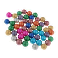 90pcs Colorful Glass Marbles Ball Toy Marble Run Games   Tank Decor