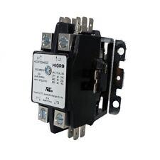 Contactor 2 Pole 40 Amp 24V Coil HVAC NEMA AC 50A,  30A Motor, A/C Compressor US