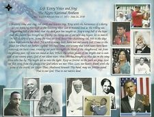 Lift Every Voice and Sing, Black National Anthem Ready to Frame Gift Print