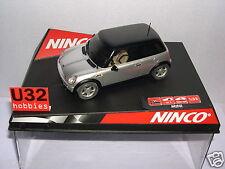NINCO 50278 SLOT CAR  MINI COOPER SILVER ROAD CAR  MB
