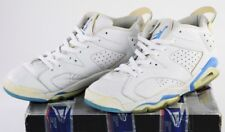 304401-141 Nike Air Jordan 6 Retro Low White Blue 11.5 White University Blue