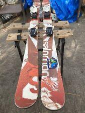 2012 Salomon Shogun twin tips Jr 140ncm  Skis with Salomon  L7 jr  Bindings