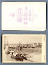 C.G. Eklund, Jönköing, cca. 1870 (Sweden) CDV vintage albumen. Suède Tirage al