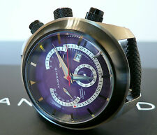 Android AD443BPU Men's Swiss ETA Movt. Retrograde Chronograph Watch & Strap Set