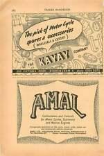 1953 Amal Ltd Witton Kayay Company Victoria Ro