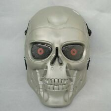 Paintball Gun Full Face Protection T800 Terminator Skull Mask Prop JDM27