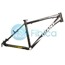 "New GIANT ATX PRO Alloy MTB Mountain Bike Frame BSA 26er 18"" Size M Black Green"