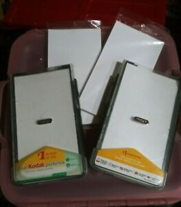 2) Kodak EasyShare Series 3 Printer Dock Paper Trays and 2 20 ct. Photo paper.