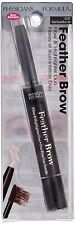 (1) Physicians Formula  Feather Brow Fiber Highlighter Duo Black Brown 6787