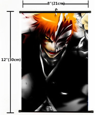 HOT Japan Anime Bleach Wall Poster Scroll Home Decor Cosplay 1497