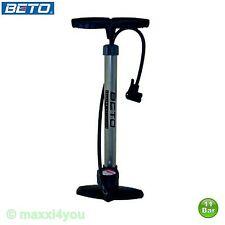 01220105 Beto Stahl Standluftpumpe Luftpumpe Fahrradpumpe AV/DV/SV Ventile