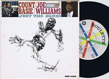COUNT BASIE / JOE WILLIAMS Just The Blues Swedish EP 45PS 1960