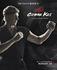 Cobra Kai (from SET 1-4) Poster 1 Canvas Picture Art Movie Car Game Film