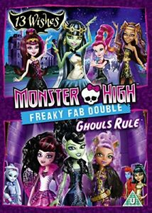 Monster High - Freaky Fab Double: 13 Wishes and Ghouls Rule [DVD][Region 2]