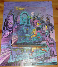 Puzzle Masters of the Universe Complete 100 Piece He-Man Golden Vintage 1984