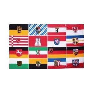Alle 16 Bundesländer Fahne (BL17)