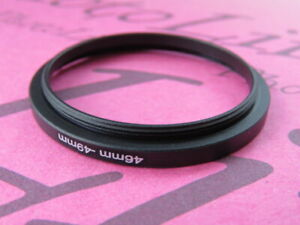 46mm to 49mm Stepping Step Up Filter Ring Adapter 46mm-49mm