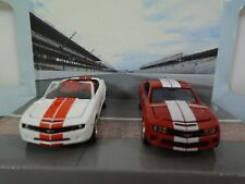 2010 & 2011 Indianapolis 500 Chevy Camaro Pace Cars Set 1:64 Diecast