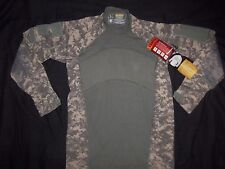 ACU MASSIF GEAR SHIRT COMBAT LARGE nwt MADE USA MILITARY ACU DIGITAL CAMO L yest