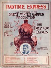 1913 Ragtime Express from Honeymoon Express by Harold Atteridge & Jean Schwartz