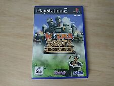 Worms Forts Under Siege - PS2 Sony PlayStation 2 AUS PAL