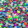 1000 NEON FLUORESCENT METAL RHINESTUD - HOTFIX IRON ON - DRESS SHOES DECORATION