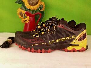 La Sportiva Ultra Raptor Neptune Poppy Laufschuhe Trailschuhe Blau Rot