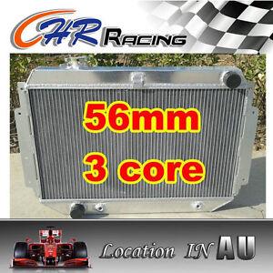 3ROW Aluminum Radiator For HOLDEN HQ HJ HX HZ V8 Kingswood 253 & 308 AT/MT