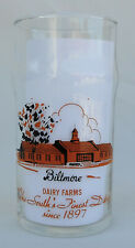 Vintage Drinking Glass from Biltmore Dairy Farms the South's Finest Dairy N.C.