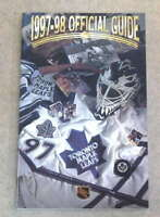TORONTO MAPLE LEAFS NHL HOCKEY MEDIA GUIDE - 1997 1998 - NEAR MINT