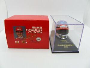 Helmet Michael Schumacher 1998 Chrome Ferrari MINICHAMPS 1/8 F1 Helmet Rare