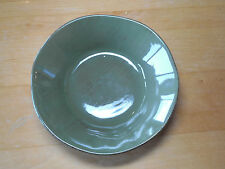 Woolrich Zrike SUMMERSTONE FALLS Set of 2 Soup Cereal Bowls 7 in Green Brown