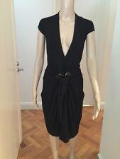 DONNA KARAN Black Label Women's Viscose Dress Like New Small