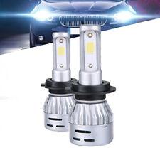 Ampoule LED H7 8000K Blanc effet Bleu clair COB 12-24V ESS TECH feux avant 50W