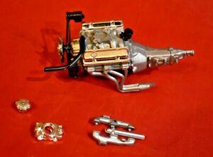 MPC 1979 Pontiac Firebird T/A 6.6 Engine 1/16