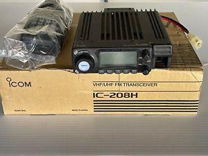 ICOM IC-208H VHF/UHF FM