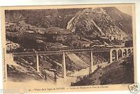 01 - cpa - La Vallée du Rhône et le fort de l'Ecluse ( i 3922)