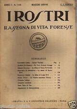 GIURIDICA_VITA FORENSE_I ROSTRI_FERRI_VIDOQ_DIFESA DI LUIGI XVI_DE MARSICO_CAPPA