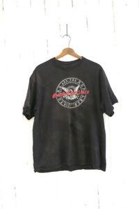 DISTRESSED Good Charlotte Tshirt Black T-Shirt Size Large