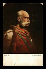 DR JIM STAMPS EMPEROR FRANZ JOSEPH PORTRAIT HUNGARY TOPICAL POSTCARD