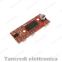 Easy DRIVER per Motori PASSO PASSO Bipolare Chip A3967SLB (arduino-compatibile)