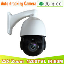 YUNSYE 2017 NEW Auto -tracking Speed Dome 1/3 CCD 1200tvl 22X Optical Zoom PTZ