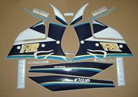 Yamaha FZR 1000 1990 Exup complete stickers decals kit 3LE adhesives aufkleber