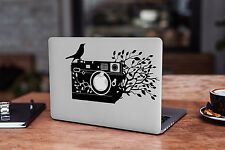 Camera Decal for Macbook Pro sticker vinyl air mac 13 15 11 laptop skin photo