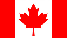 """FLAG OF CANADA FLEXIBLE MAGNET 4"""" X 3"""" INCHES (10×7.5 cm)"""