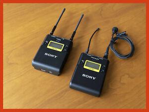 Sony UWP-D11 / K42 Audiofunkstrecke mit Lavalier Mikrofon - sehr guter Zustand