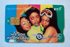 £3 BT (British Telecom) Special Edition Phonecard w/ Big Microchip (Used)