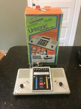 UNISONIC TOURNAMENT 1000 ACTION TV Video Game System Console Player PONG W/box