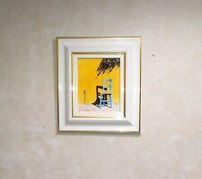 Huile sur toile Frederic Defontenay (1957) Provencal contemporain 24x19cm